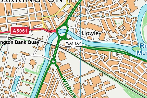 Latchford CofE Primary School map (WA4 1AP) - OS VectorMap District (Ordnance Survey)