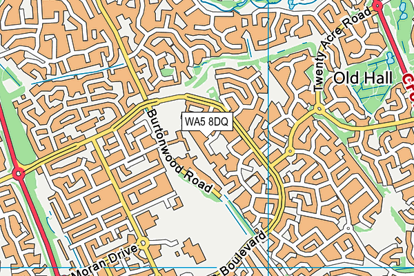Map of BLUESKY TOURS LTD at district scale