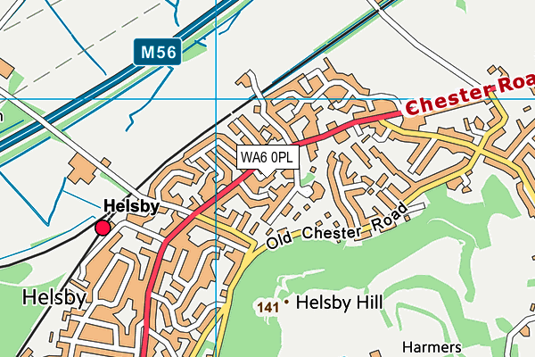 Map of PROPERTY ROCKS CHESHIRE LIMITED at district scale