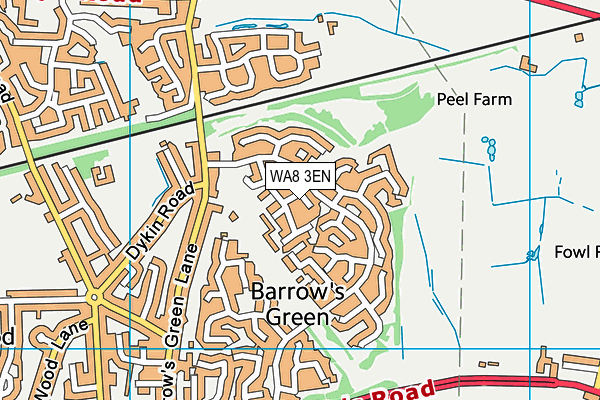 Map of MYLER LTD at district scale