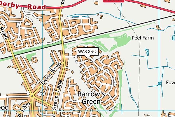 Map of STEPHEN MILLWARD LIMITED at district scale