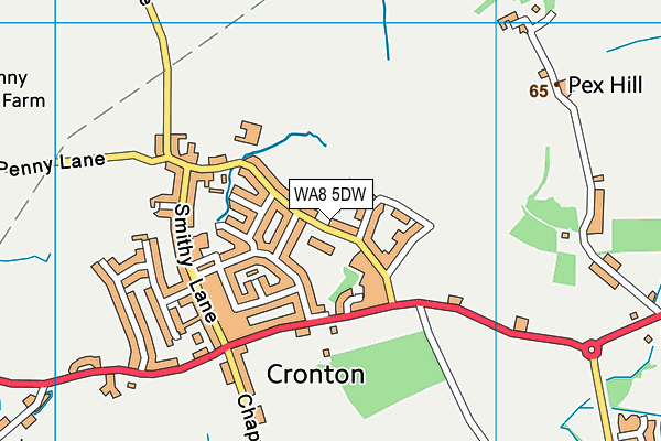 Holy Family Catholic Primary School map (WA8 5DW) - OS VectorMap District (Ordnance Survey)
