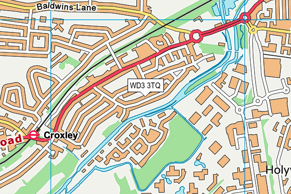 Map of AUDLEY (EDINBURGH) LIMITED at district scale