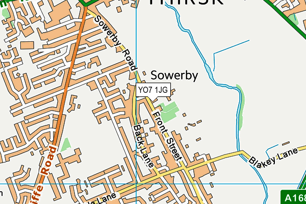 Map of MOWBRAY ASSOCIATES LIMITED at district scale