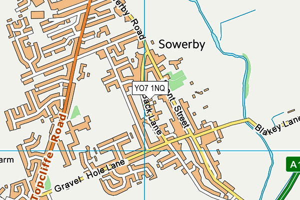 Map of NORTH YORKSHIRE HEATING LTD at district scale