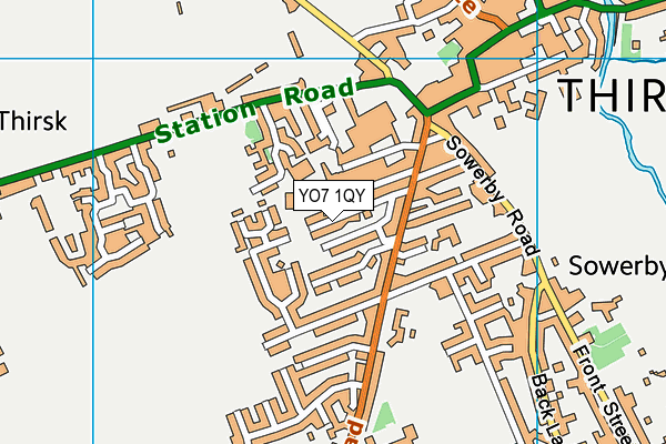 Map of SADIE STEPHENSON LTD at district scale