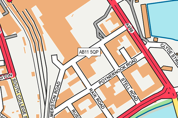 Map of G2SD LTD at local scale