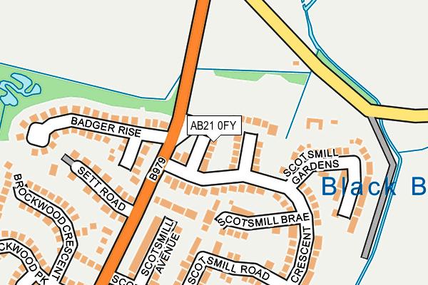 Map of DJE ENTERPRISES LTD at local scale