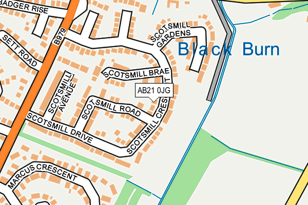 Map of BROCKWOOD CONSULTANCY LTD at local scale