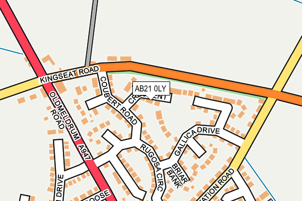 Map of EGMP CONSULTANT LIMITED at local scale