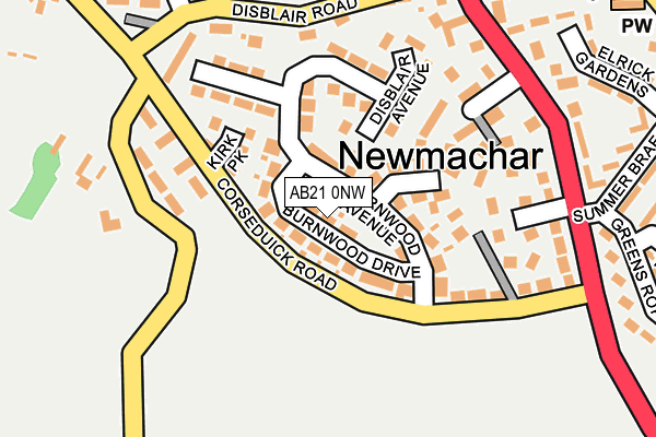 Map of IWM SAFETY ENGINEERING LTD at local scale