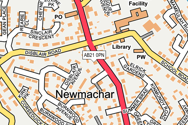 Map of F H NEWMACHAR LTD. at local scale