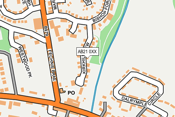 Map of GWTECH DESIGNS LIMITED at local scale