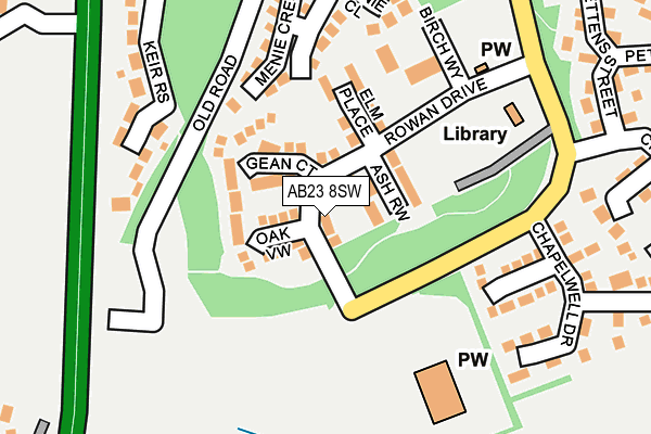 Map of MONTAMO SOLUTIONS LTD at local scale