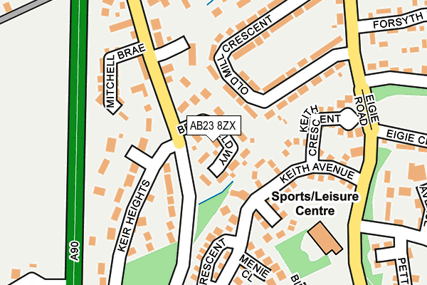 Map of GILLAHILL LTD at local scale