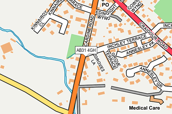 Map of LONGTARGET LIMITED at local scale