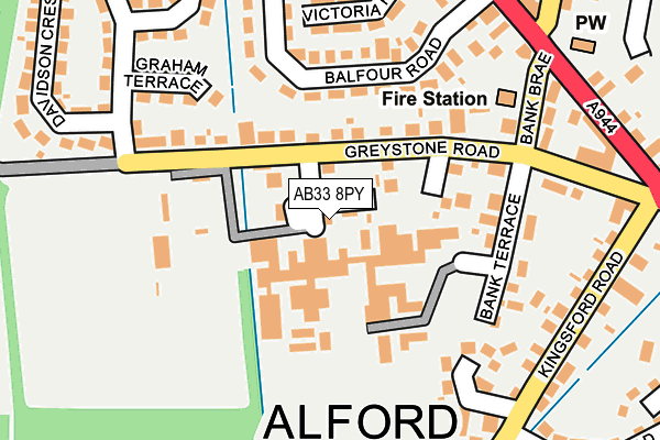 Map of STRUCTOR LIMITED at local scale