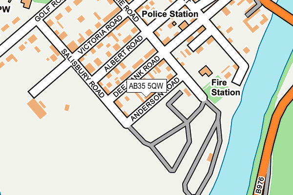 Map of BALLATER COMMUNITY ENTERPRISE LIMITED at local scale
