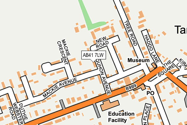 Map of COLIN MASSIE WINDOWS & JOINERY LTD. at local scale