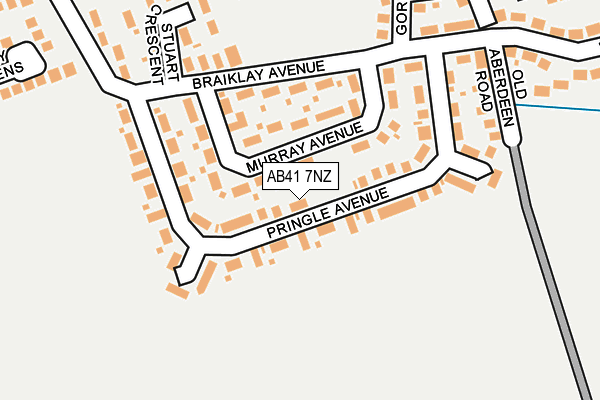 Map of STAMIN LTD. at local scale