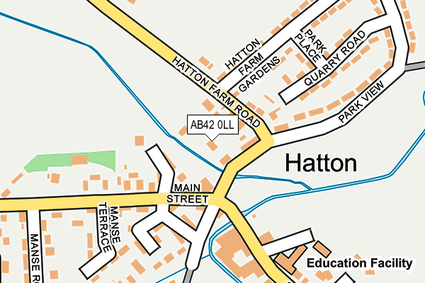 Map of STONE FALCON COMBATANT LTD at local scale
