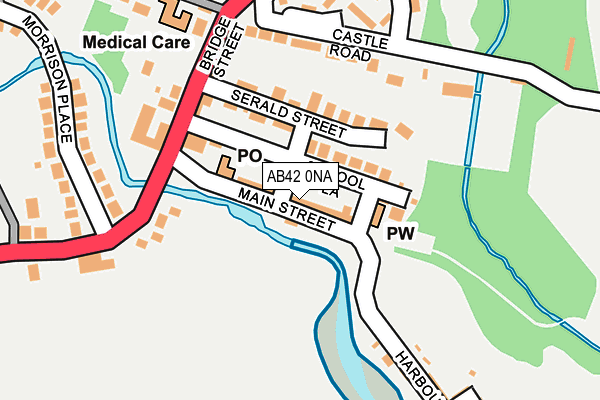 Map of GDE WELDING LTD at local scale