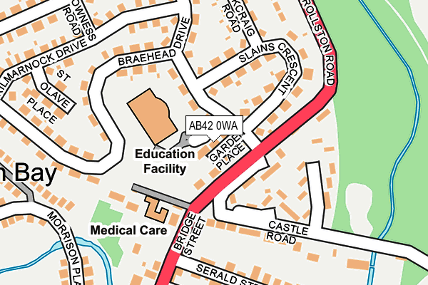Map of BLACK MASK LIMITED at local scale