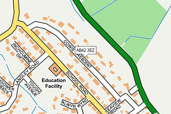 Map of JAMMY D'S LIMITED at local scale