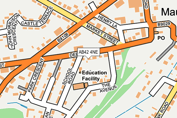 Map of COZY CUPPA LTD. at local scale