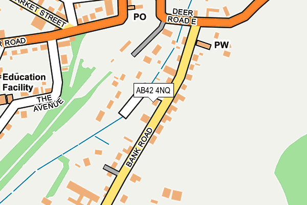 Map of C M METERING LIMITED at local scale