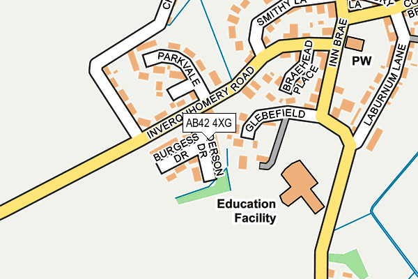 Map of COBBAN METERING LTD at local scale