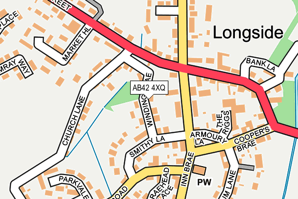 Map of ALAN CAMLEY LIMITED at local scale