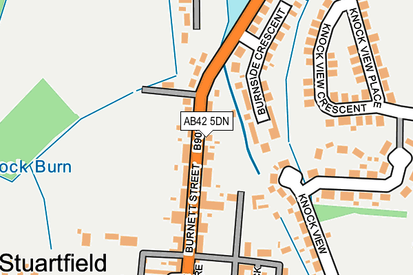 Map of STEELIE'S BAR LTD at local scale