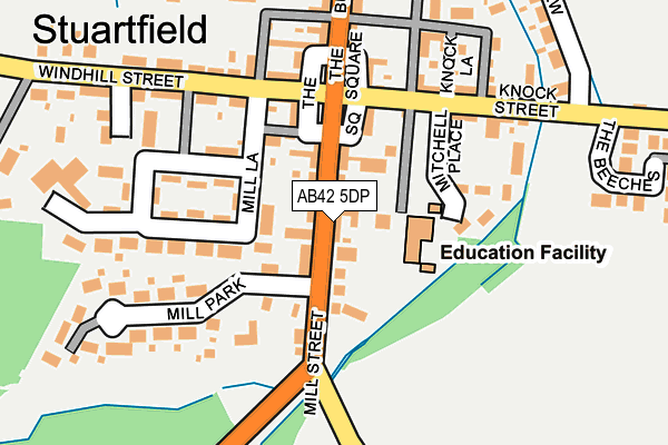 Map of WHITBURGH LIMITED at local scale