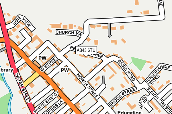 Map of FABMACH LTD at local scale