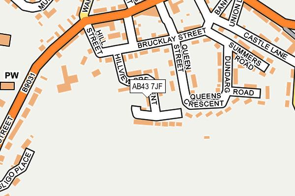 Map of IAN GATT LTD. at local scale
