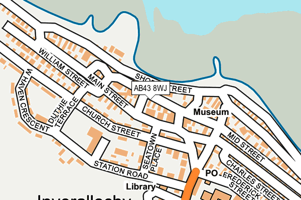 Map of LDB SAFETY SERVICES LTD at local scale