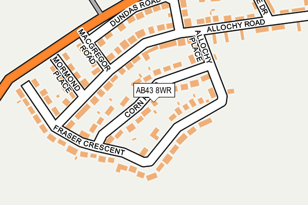 Map of MICHAEL CLARK 22 LTD. at local scale