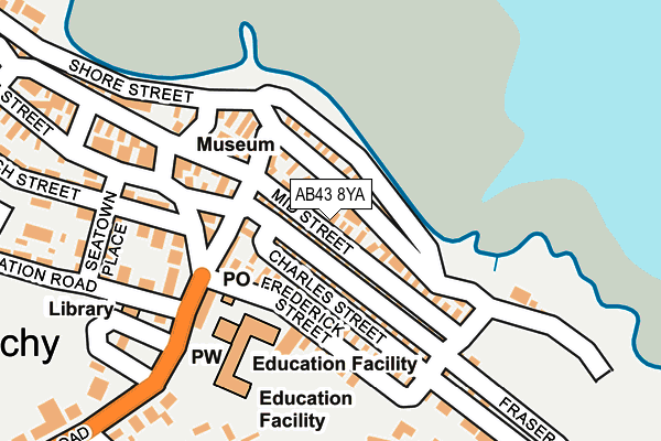 Map of LEYE ENTERPRISES LIMITED at local scale