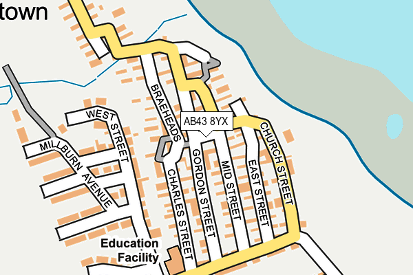Map of KENNY DUNBAR JOINERY LIMITED at local scale