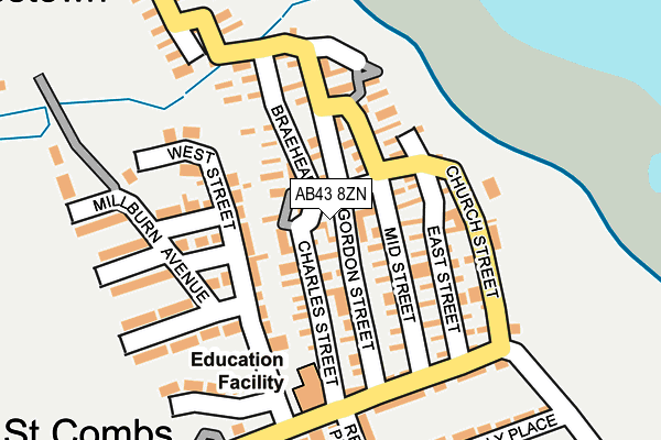 Map of MURRAY MARINE LTD. at local scale