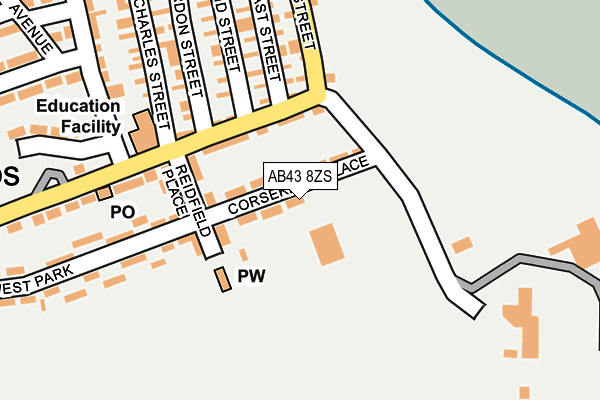 Map of JADELEIGH ELECTRICAL LTD. at local scale