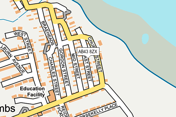 Map of W & R STEPHEN LTD. at local scale