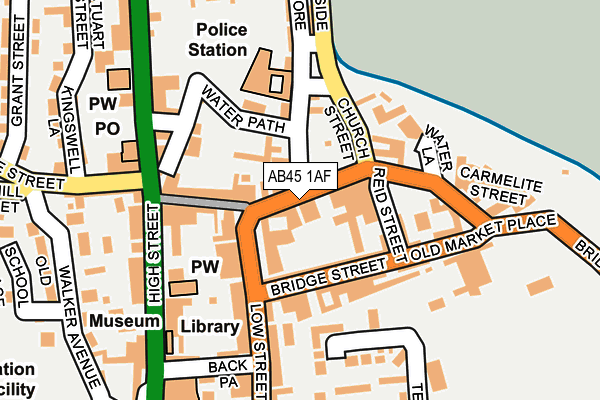 Map of GARDENIA HOUSE LTD at local scale