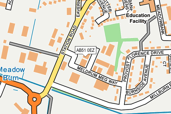 Map of EX CONTROL SYSTEMS LTD at local scale