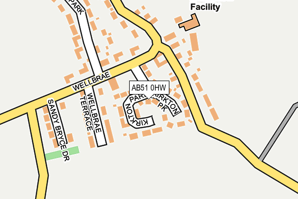 Map of GIZMO SOLUTIONS LIMITED at local scale