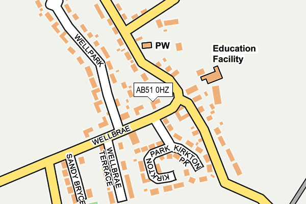 Map of VISEAN WELLSITE GEOLOGY LIMITED at local scale