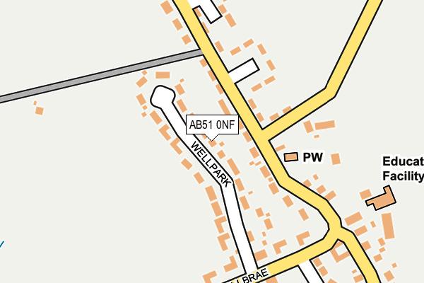 Map of GLENBREX LTD at local scale