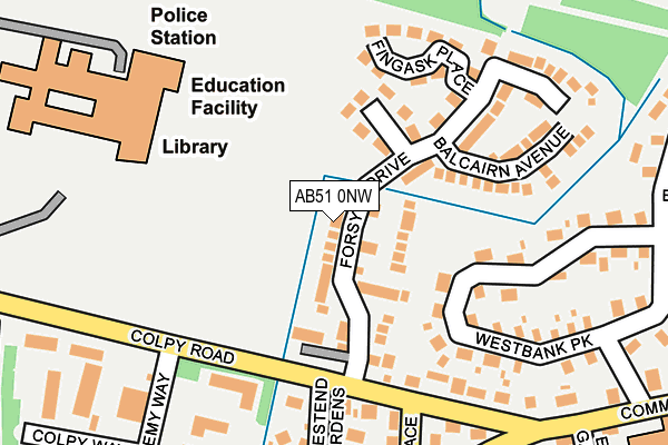 Map of THT MCBEY LTD at local scale