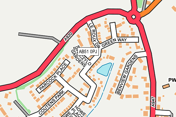 Map of WALK-2-WORK LIMITED at local scale